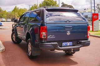2014 Holden Colorado RG MY15 LS Crew Cab Blue 6 Speed Sports Automatic Utility