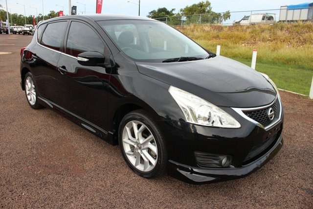 Pre-Owned Nissan Pulsar C12 Series 2 SSS Darwin, 2015 Nissan Pulsar C12 Series 2 SSS Black 6 Speed Manual Hatchback