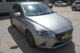 2015 Mazda 2 DJ2HA6 Genki SKYACTIV-MT Grey 6 Speed Manual Hatchback