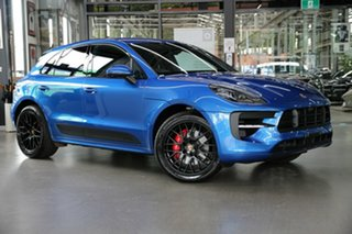2020 Porsche Macan 95B MY20 GTS PDK AWD Blue 7 Speed Sports Automatic Dual Clutch Wagon.