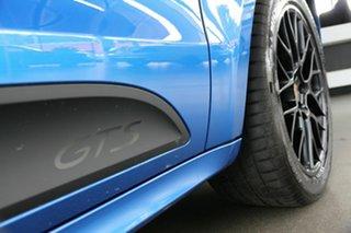 2020 Porsche Macan 95B MY20 GTS PDK AWD Blue 7 Speed Sports Automatic Dual Clutch Wagon