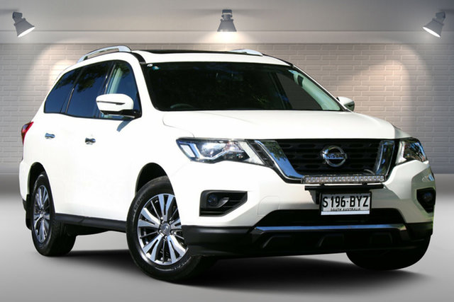 Used Nissan Pathfinder R52 Series II MY17 Ti X-tronic 4WD Nailsworth, 2018 Nissan Pathfinder R52 Series II MY17 Ti X-tronic 4WD White 1 Speed Constant Variable Wagon