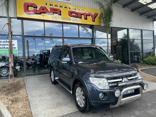 2006 Mitsubishi Pajero NS Exceed LWB (4x4) Grey 5 Speed Auto Sports Mode Wagon.