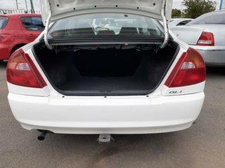 2001 Mitsubishi Lancer CE2 GLi White 5 Speed Manual Coupe