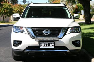 2018 Nissan Pathfinder R52 Series III MY19 ST-L X-tronic 4WD White 1 Speed Constant Variable Wagon