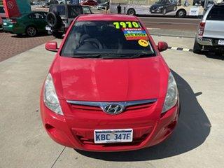 2012 Hyundai i20 PB MY12 Active Red 5 Speed Manual Hatchback.