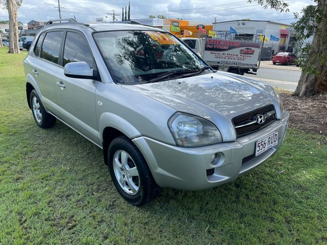 Used Hyundai Tucson JM City Clontarf, 2007 Hyundai Tucson JM City Silver 4 Speed Sports Automatic Wagon