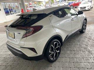 2018 Toyota C-HR Koba White Constant Variable Wagon.