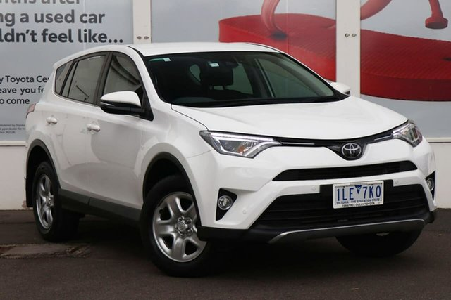 Pre-Owned Toyota RAV4 ZSA42R GX 2WD Ferntree Gully, 2017 Toyota RAV4 ZSA42R GX 2WD White 7 Speed Constant Variable Wagon