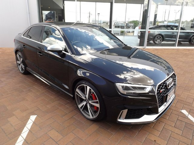 Used Audi RS 3 8V MY17 S Tronic Quattro Toowoomba, 2017 Audi RS 3 8V MY17 S Tronic Quattro 7 Speed Sports Automatic Dual Clutch Sedan