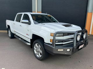 2018 Chevrolet Silverado C/K25 2500HD Pickup Crew Cab LTZ Custom Sport Edition White 6 Speed.