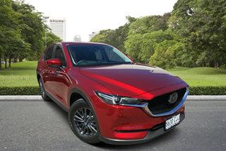 2019 Mazda CX-5 KF4WLA Touring SKYACTIV-Drive i-ACTIV AWD Red 6 Speed Sports Automatic Wagon.