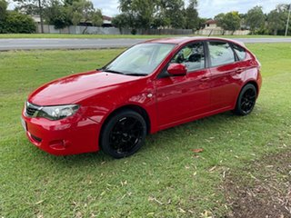 2007 Subaru Impreza S MY07 AWD Red 4 Speed Automatic Sedan.