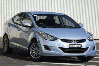2012 Hyundai Elantra MD Active Blue 6 Speed Sports Automatic Sedan.