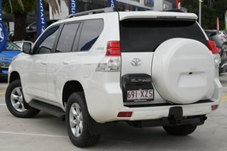 2013 Toyota Landcruiser Prado KDJ150R Altitude White 5 Speed Sports Automatic Wagon.