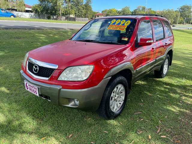 Used Mazda Tribute MY2006 Luxury Clontarf, 2007 Mazda Tribute MY2006 Luxury Red 4 Speed Automatic Wagon