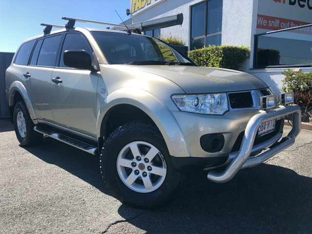 Used Mitsubishi Challenger PB (KH) MY11 Slacks Creek, 2011 Mitsubishi Challenger PB (KH) MY11 Champagne 5 Speed Sports Automatic Wagon