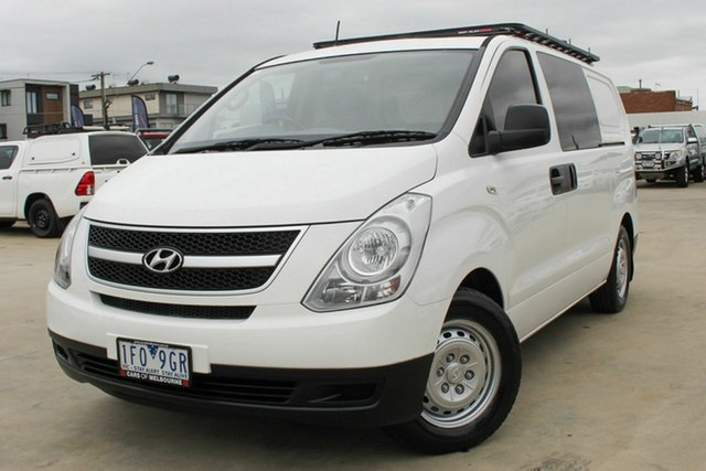 Used Hyundai iLOAD TQ2-V MY15 Coburg North, 2015 Hyundai iLOAD TQ2-V MY15 White 5 Speed Automatic Van