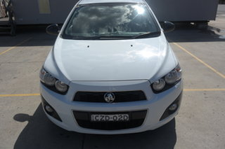 2015 Holden Barina TM MY15 X White 6 Speed Automatic Hatchback.