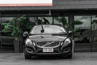 2012 Volvo S60 F Series MY13 T4 PwrShift Teknik Grey 6 Speed Sports Automatic Dual Clutch Sedan.