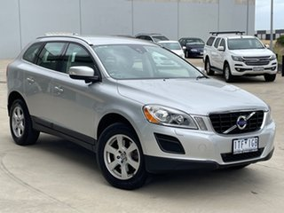 2013 Volvo XC60 DZ MY13 D5 Geartronic AWD Teknik Silver 6 Speed Sports Automatic Wagon