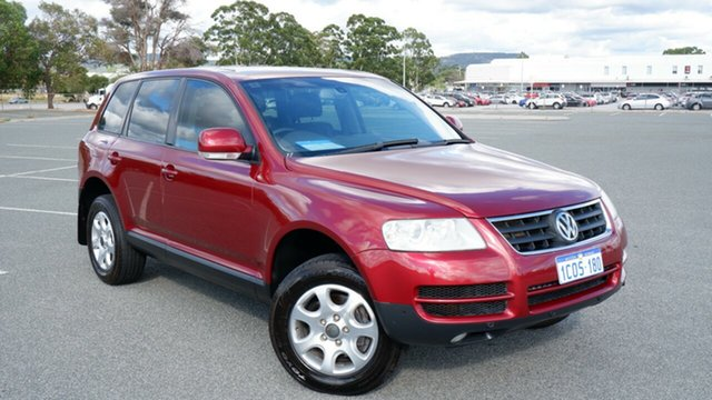 Used Volkswagen Touareg 7L MY07 V6 FSI 4XMOTION Maddington, 2007 Volkswagen Touareg 7L MY07 V6 FSI 4XMOTION Burgundy 6 Speed Sports Automatic Wagon