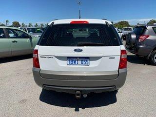 2005 Ford Territory SX TX (RWD) White 4 Speed Auto Seq Sportshift Wagon