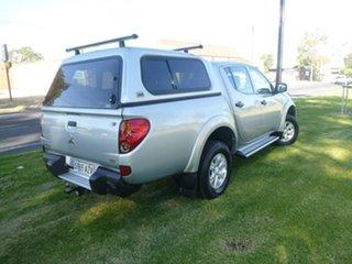 2010 Mitsubishi Triton MN GL-R Silver Manual Utility