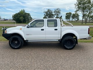 2014 Nissan Navara D22 S5 ST-R White 5 Speed Manual Utility