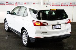 2017 Holden Equinox EQ MY18 LS (FWD) White 6 Speed Manual Wagon.