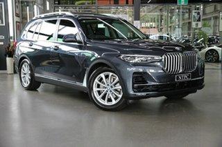 2019 BMW X7 G07 xDrive30d Steptronic Grey 8 Speed Sports Automatic Wagon.