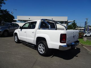 2017 Volkswagen Amarok 2H MY17 TDI550 4MOTION Perm Highline White 8 Speed Automatic Utility.