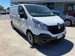 2017 Renault Trafic X82 85kW Low Roof SWB White 6 Speed Manual Van.