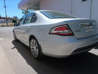 2010 Ford Falcon FG G6E 50th Anniversary Silver 6 Speed Sports Automatic Sedan