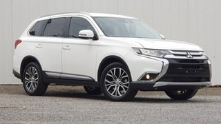 2018 Mitsubishi Outlander ZL MY18.5 LS AWD White 6 Speed Sports Automatic Wagon.