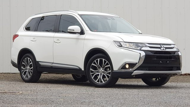 Used Mitsubishi Outlander ZL MY18.5 LS AWD Clare, 2018 Mitsubishi Outlander ZL MY18.5 LS AWD White 6 Speed Sports Automatic Wagon