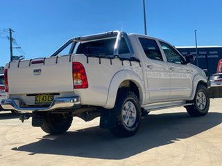 2010 Toyota Hilux SR5 White Automatic Dual Cab Utility.