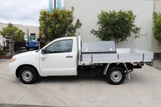 2007 Toyota Hilux TGN16R MY07 Workmate 4x2 Glacier 5 speed Manual Cab Chassis