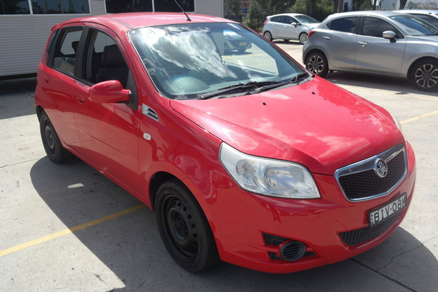 Used Holden Barina TK MY09 Maryville, 2008 Holden Barina TK MY09 Red 4 Speed Automatic Hatchback