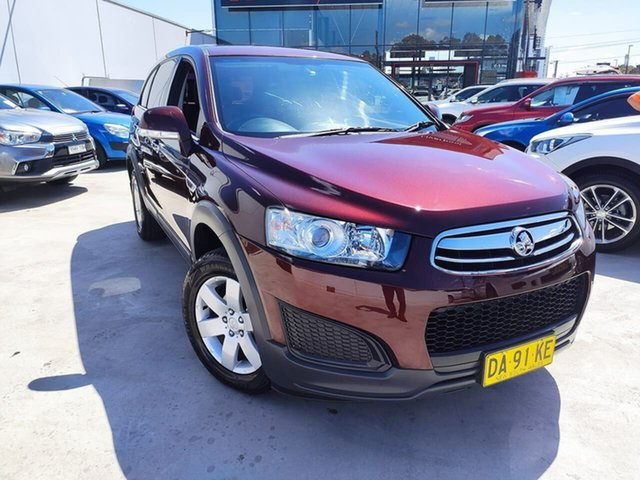 Used Holden Captiva CG MY14 7 LS Liverpool, 2014 Holden Captiva CG MY14 7 LS Maroon 6 Speed Sports Automatic Wagon