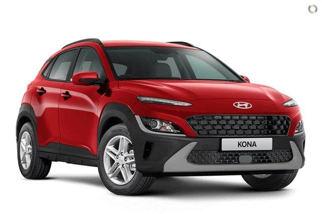 New Hyundai Kona Os.v4 MY21 2WD Nailsworth, 2021 Hyundai Kona Os.v4 MY21 2WD Ignite Flame 8 Speed Constant Variable Wagon