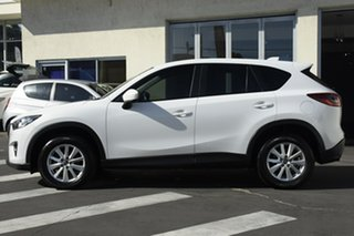 2012 Mazda CX-5 KE1021 Maxx SKYACTIV-Drive AWD Sport White Pera 6 Speed Sports Automatic Wagon