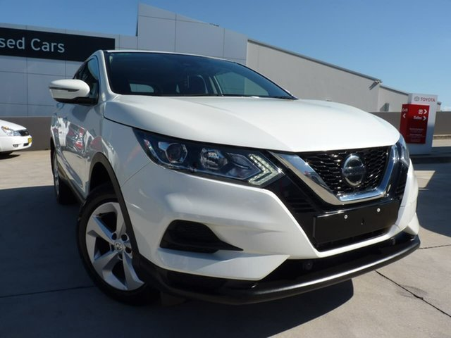 Pre-Owned Nissan Qashqai J11 Series 3 MY20 ST X-tronic Blacktown, 2019 Nissan Qashqai J11 Series 3 MY20 ST X-tronic Ivory Pearl 1 Speed Constant Variable Wagon