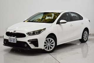 2018 Kia Cerato BD MY19 S White 6 Speed Sports Automatic Sedan.