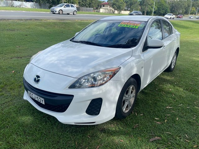 Used Mazda 3 BL10F2 Maxx Sport Clontarf, 2012 Mazda 3 BL10F2 Maxx Sport White 6 Speed Manual Sedan