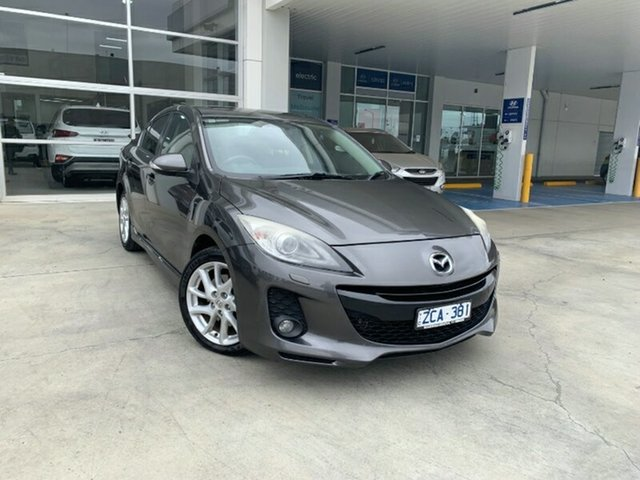 Used Mazda 3 BL10L2 MY13 SP25 Activematic Ravenhall, 2012 Mazda 3 BL10L2 MY13 SP25 Activematic Grey 5 Speed Sports Automatic Sedan