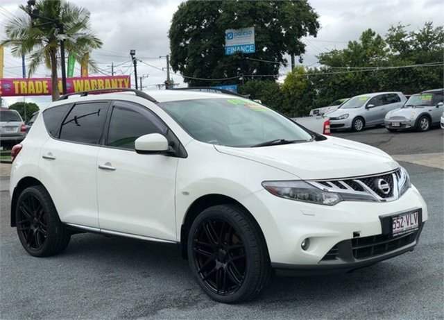 Used Nissan Murano ST Archerfield, 2014 Nissan Murano Z51 Series 4 ST White 6 Speed Constant Variable Wagon