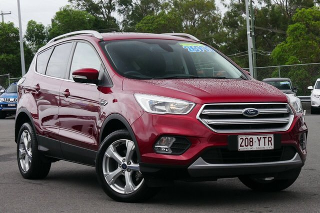 Used Ford Escape ZG Trend Hillcrest, 2017 Ford Escape ZG Trend Red 6 Speed Sports Automatic SUV
