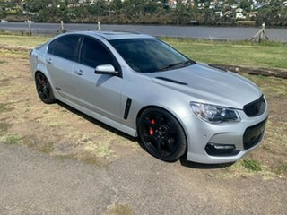 2016 Holden Commodore VF II MY16 SS V Redline Silver 6 Speed Manual Sedan