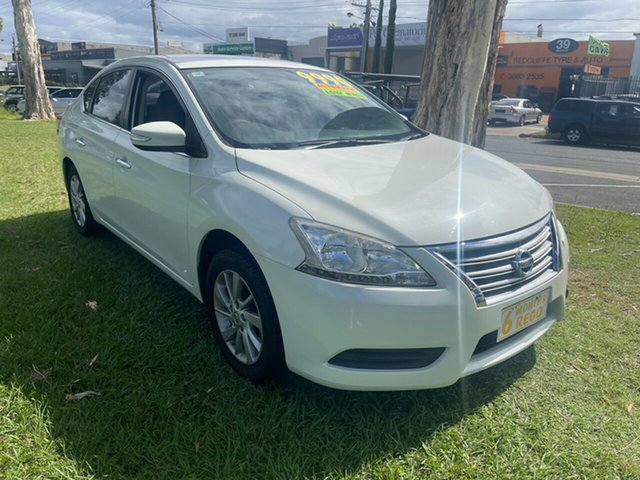Used Nissan Pulsar B17 ST Clontarf, 2014 Nissan Pulsar B17 ST White 1 Speed Constant Variable Sedan
